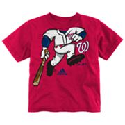 adidas Washington Nationals Pinch Hitter Tee - Toddler