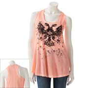 Rock and Republic Eagle Embellished Tank