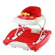 Dream On Me Dynamic 2-in-1 Rocker and Walker - Red