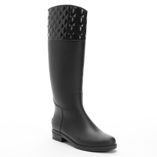 Quilted Rain Boots - Cr Boot