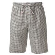 Dockers Checked Jersey Lounge Shorts