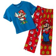 Super Mario 2-pc. Pajama Set - Boys 4-12