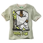 Star Wars Mock-Layer Yoda Tee - Toddler