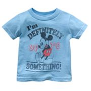 Disney Mickey Mouse Up to Something Tee - Baby