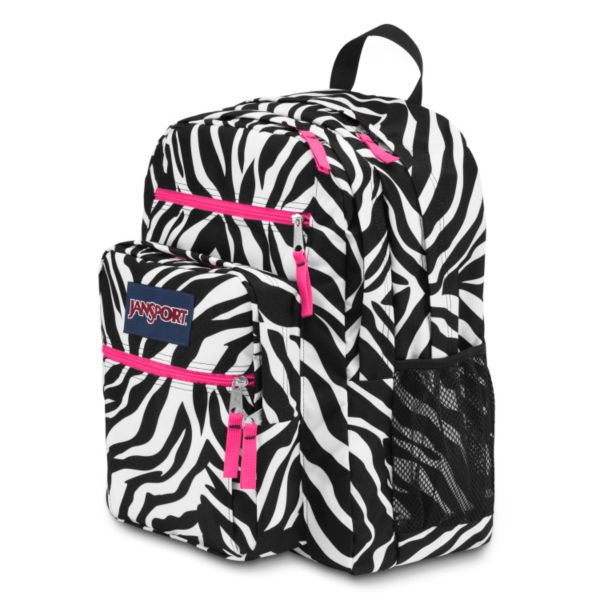 ... zebra backpack this jansport big student zebra backpack is perfect for