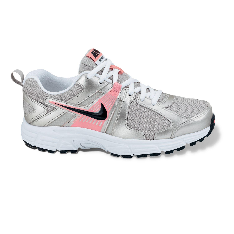 Nike Black Dart 10 Running Shoes - Pre-School Girls