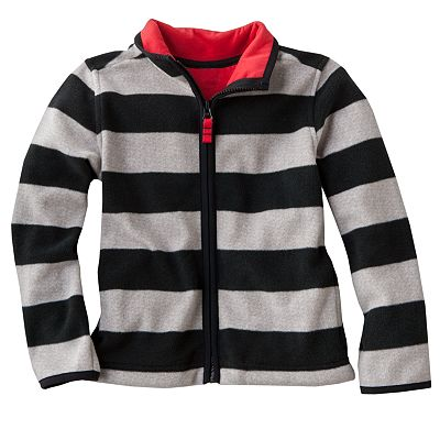 Carter's Striped Microfleece Jacket - Boys 4-7