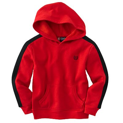Chaps Striped Fleece Hoodie - Boys 4-7