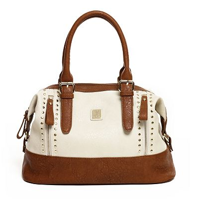 V-Couture by Kooba Cavallo Studded Convertible Satchel