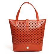 V-Couture by Kooba Baretta Perforated Tote