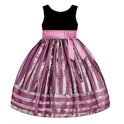 American Princess Sequined Pick Up-Style Dress - Toddler