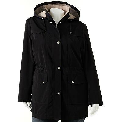 Giacca Hooded Anorak Jacket - Women's Plus