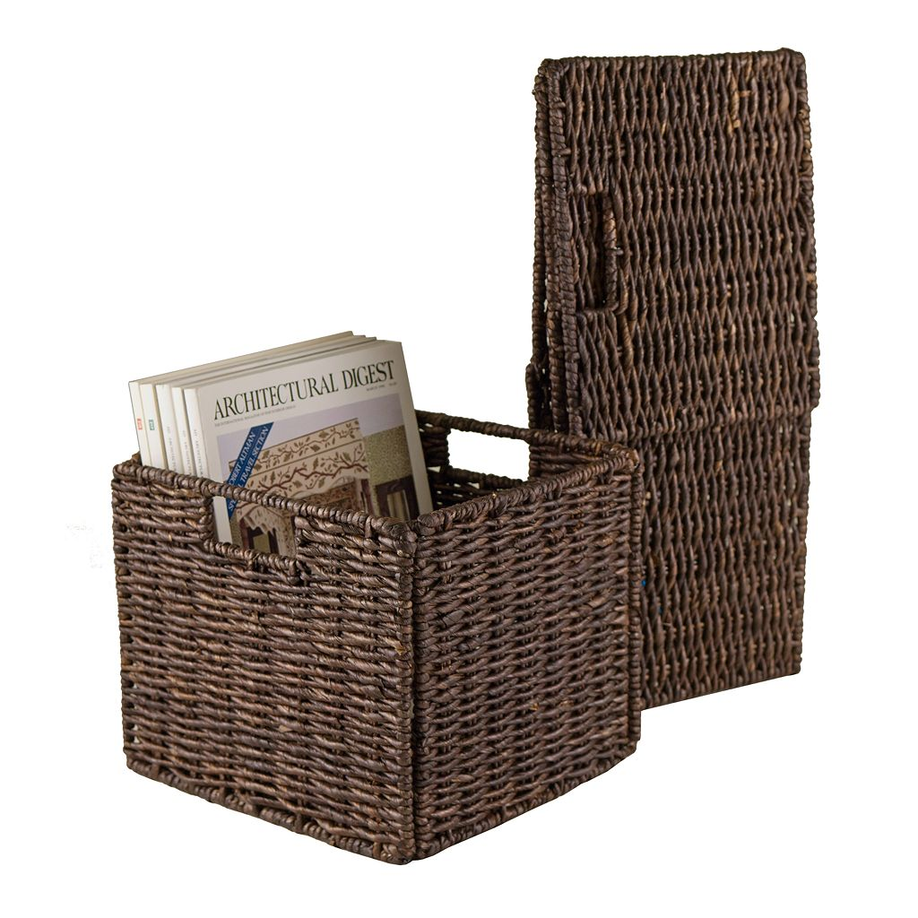 Winsome 2-pc. Granville Storage Basket Set - Small