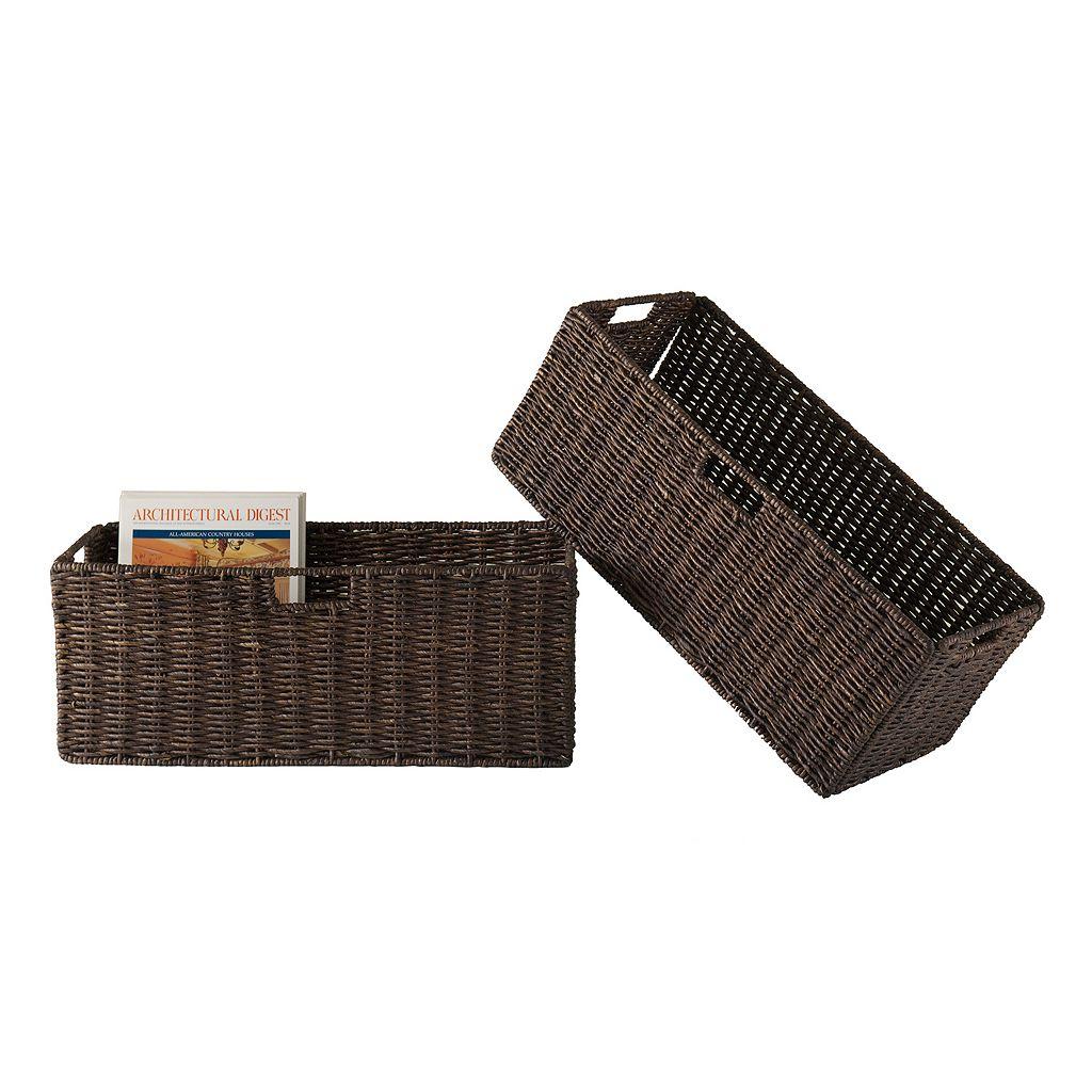 Winsome 2-pc. Granville Storage Basket Set - Large