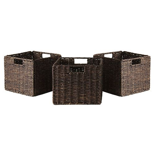 Winsome 3-pc. Granville Storage Basket Set - Small