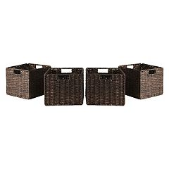 Winsome 4 pc Granville Storage Basket Set - Small
