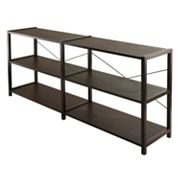 Winsome Sheldon 3-Tier Crossed Wire Shelf