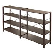 Winsome Sheldon 4-Tier Crossed Wire Shelf