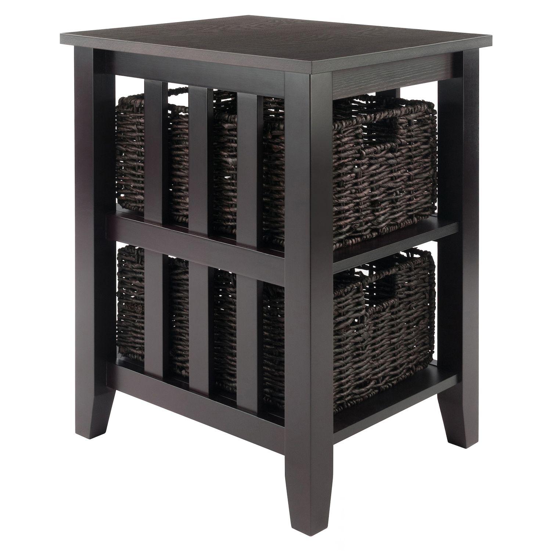 Superior Winsome Morris Side Table U0026 Two Basket Unit