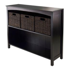 Winsome Terrace Wide 3-Tier Storage Shelf