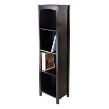 Winsome Terrace Narrow 5-Tier Storage Bookshelf