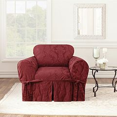 Sure Fit Matelasse Damask Chair Slipcover