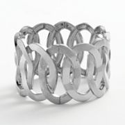 Apt. 9 Textured Oval Link Stretch Bracelet