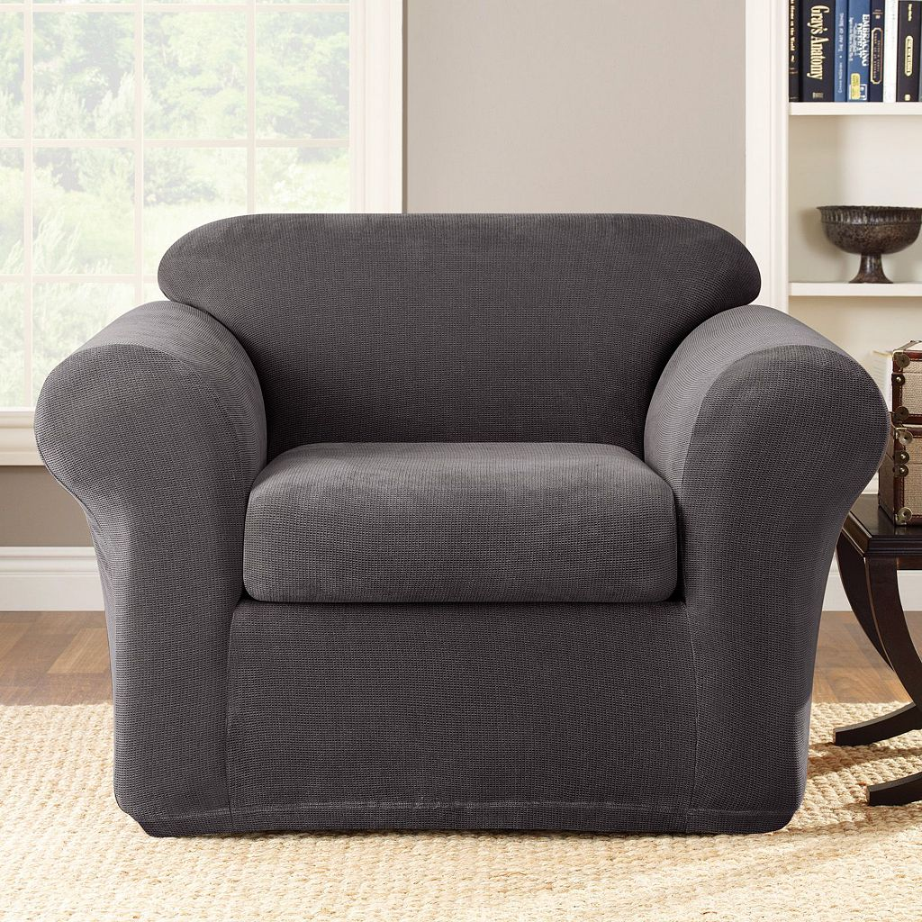 Sure Fit Stretch Metro 2-pc. Chair Slipcover