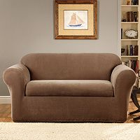 Sure Fit Stretch Metro 2 pc Loveseat Slipcover