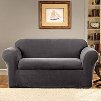 Sure Fit Stretch Metro 2-pc. Loveseat Slipcover