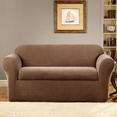 Sure Fit Stretch Metro 2-pc. Sofa Slipcover