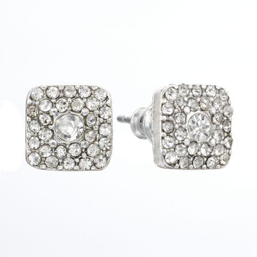 LC Lauren Conrad Square Stud Earrings