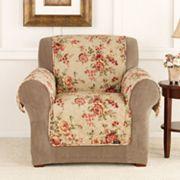 Sure Fit Lexington Floral Chair Slipcover
