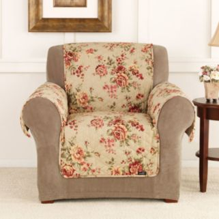 Sure Fit Lexington Floral Chair Slipcover