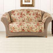 Sure Fit Lexington Floral Loveseat Slipcover