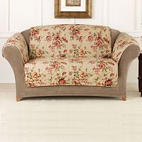 Sure Fit Lexington Floral Loveseat Slipcover