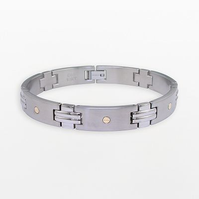 Stainless Steel Link Bracelet - Men