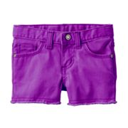 SONOMA life + style Solid Denim Shorts - Toddler