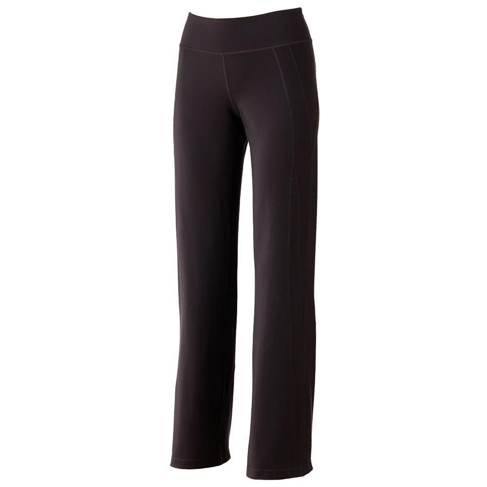 Tek Gear® Core Essentials Shapewear Fit & Flare Yoga Pants
