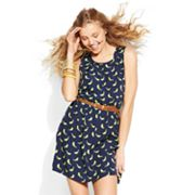 IZ Byer California Bird Dress - Juniors