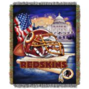 Washington Redskins Tapestry Throw by Northwest
