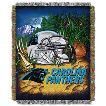 Carolina Panthers Tapestry Throw by Northwest