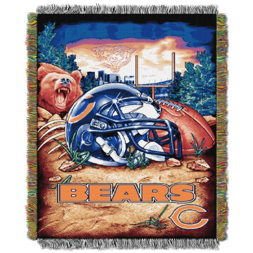 Chicago Bears Tapestry Throw by Northwest