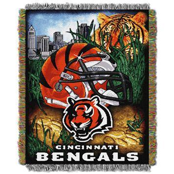 Cincinnati Bengals Tapestry Throw by Northwest