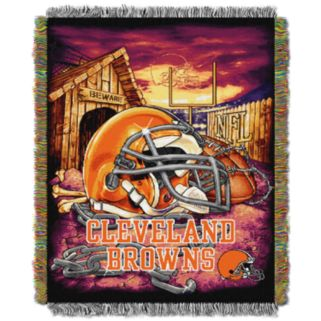 Cleveland Browns Tapestry Throw by Northwest