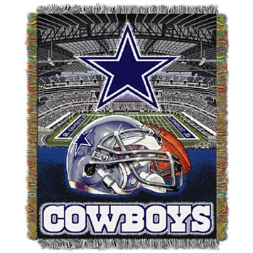 Dallas Cowboys Tapestry Throw by Northwest