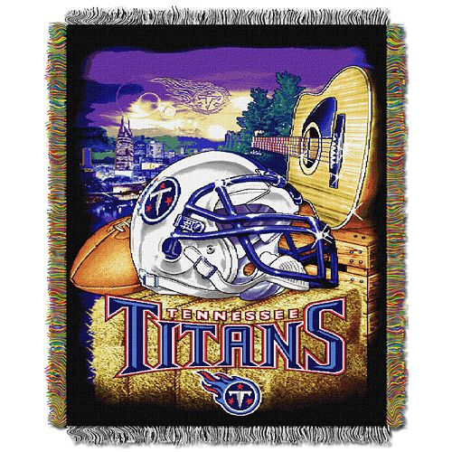 Tennessee Titans Tapestry Throw by Northwest
