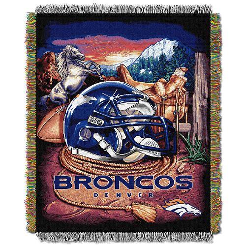 Denver Broncos Tapestry Throw by Northwest