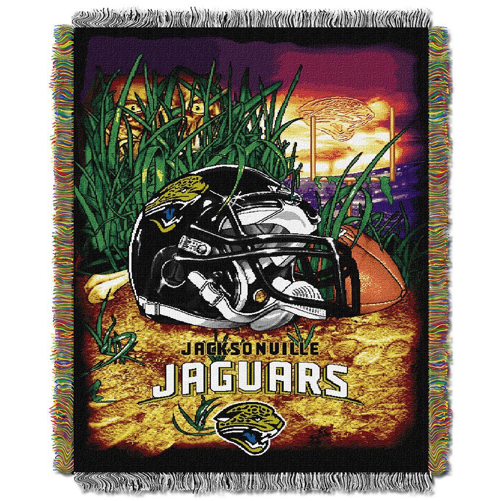 Jacksonville Jaguars Tapestry Throw by Northwest