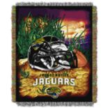 Jacksonville Jaguars Tapestry Throw by Northwest